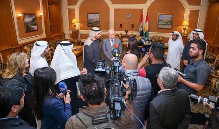 مواطنون عن زيارة حسين الجسمي إلى اربيل: نرجوك لا تغني لكردستان.. احذروا من الكارثة