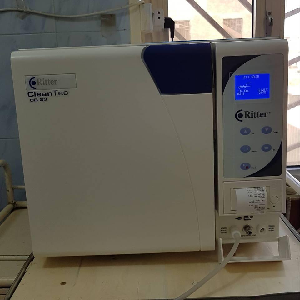 صحة الكرخ: تنصيب جهاز تعقيم الآلات الجراحية (الاوتوكليف) وجهاز التقطير في مستشفى المحمودية