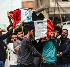 امريكا تدين استخدام العراق قوة مروعة وشنيعة ضد المحتجين