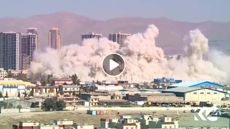 بالفيديو.. لحظة تفجير سايلو السليمانية 2018