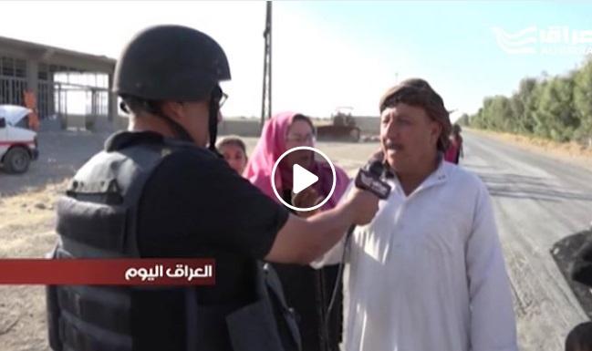 بالفيديو .. محافظ كركوك يصل التون كوبري للتنسيق مع القوات الأمنية بشأن النازحين من المدينة